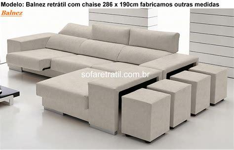 sofa com sof 225 com chaise em s 227 o paulo em goi 226 nia em goias em