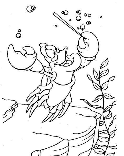 coloring page the little mermaid the little mermaid coloring pages disney free printable