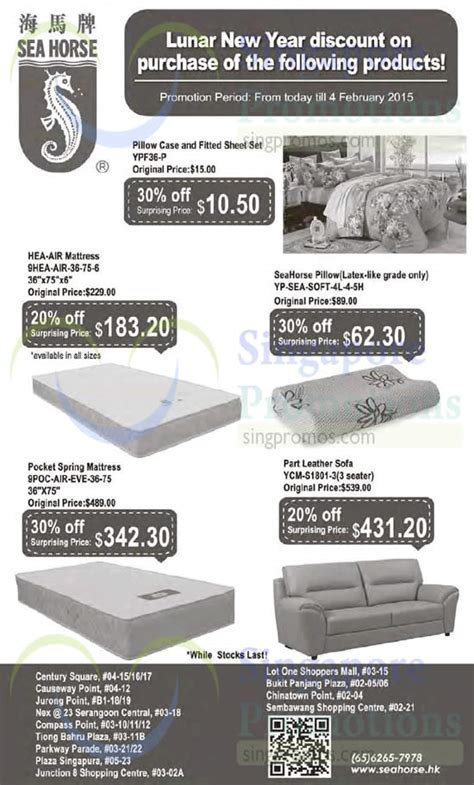 Sofa Promotion Singapore by Seahorse Sofa Promotion Scifihits