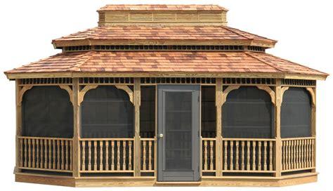 pavillon 2x3 wood gazebos lykens valley gazebos and outdoor living