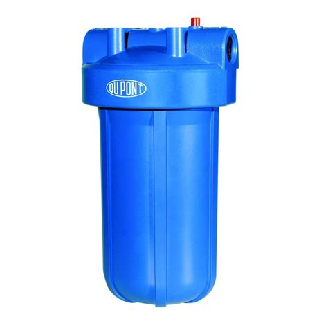 whole house water filter systems dupont heavy duty whole house water filtration system wfhd13001b the home depot