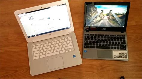 Hp Acer V hp chromebook 14 vs acer c720