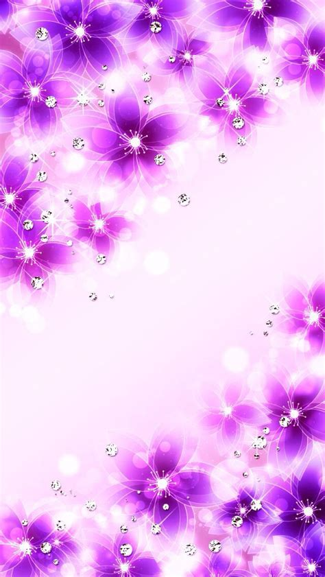 glitter wallpapers of flowers sparkly flowers overlays wallpaper pinterest floral