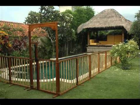 backyard pool fence ideas pool fence ideas landscaping fences for outdoor youtube