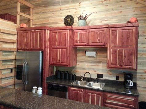 custom cabinets rustic kitchen