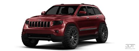 Jeep Grand Paint 3dtuning Of Jeep Grand Suv 2011 3dtuning