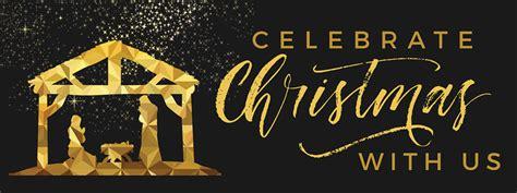 black  gold nativity banner church banners outreach marketing