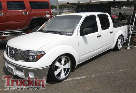 nissan frontier bagged 2010 streetdreams truck show hawaii nissan frontier custom