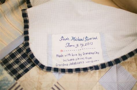 Custom Embroidered Quilt Labels by Embroidered Custom Quilt Label Projects
