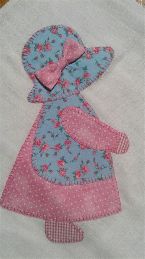 patchwork applique chika charmosa ateli 234 sunbonnet sue