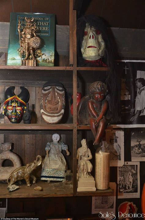 annabelle doll occult museum inside the warrens occult museum terrifying basement