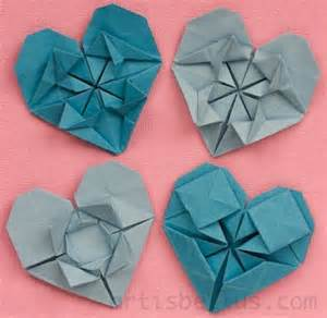 Valentines Origami - s day hearts new origami models origami