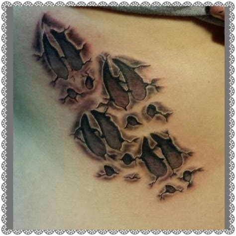 deer track tattoos 576 best images about deer ideas on