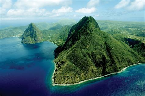 Wallpaper For Dining Rooms by Visit A World Heritage Site The Pitons St Lucia