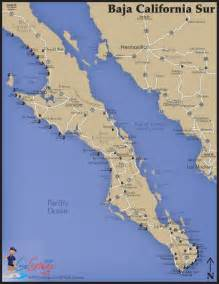 map of baja south baja sur map go gringo