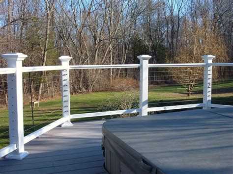 Stainless Steel Deck Railing by Nature S View Railing And Building Contact Us