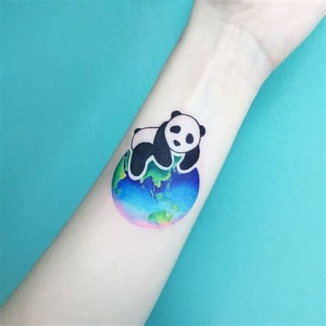 panda tattoo on finger 42 powerful bear tattoo ideas with meaning