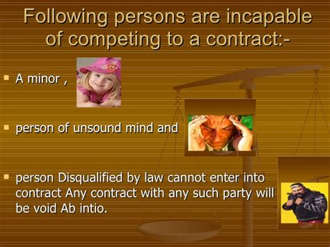 section 10 of contract act indian contract act 1872 competency of the parties to contract