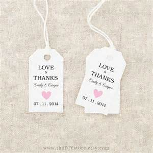 Wedding Favor Tag Template by 7 Best Images Of Free Printable Wedding Tags Templates
