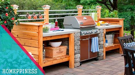 outdoor kitchen islands how to build a grill surround