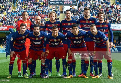 barcelona team villarreal cf v fc barcelona la liga getty images