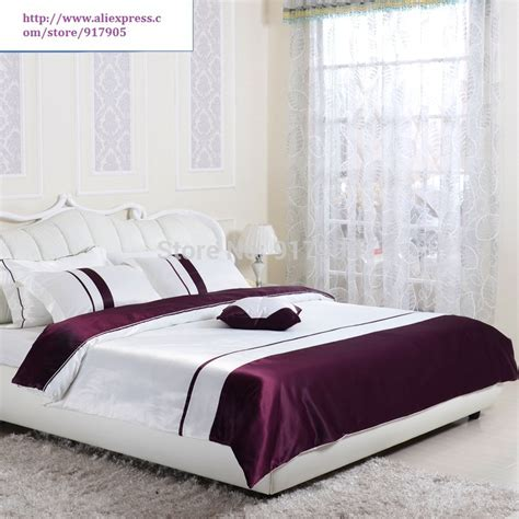 purple queen bed set luxury western style dark purple comforter set full queen