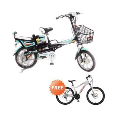 Sepeda Dignity Type Winner 1 jual paket bundling selis sniper sepeda listrik tosca
