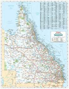 laminated wall maps qld queensland reference map
