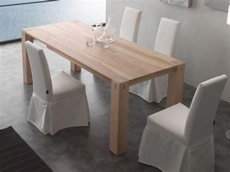 tavoli da pranzo moderni allungabili tavolo da pranzo allungabile in legno massello fino a 260