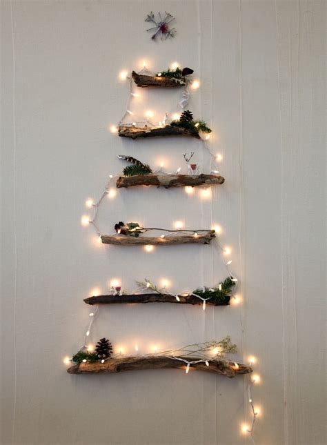 diy alternative christmas tree