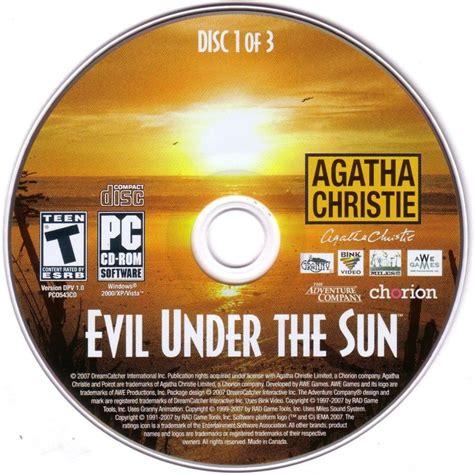 agatha christie evil under the sun for nintendo wii agatha christie evil under the sun 2008 wii box cover
