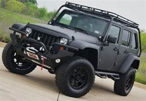 matte black modified jeep jeep
