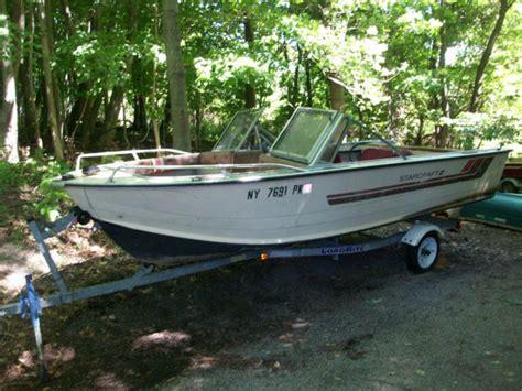 vintage starcraft aluminum boats 1985 starcraft ss160 runabout bowriderclassic starcraft16