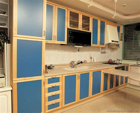 blue kitchen cabinets ideas modern blue kitchen cabinets pictures design ideas