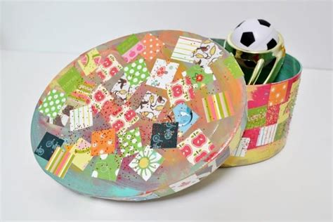 decoupage for children easy craft decoupage treasure box mod podge rocks
