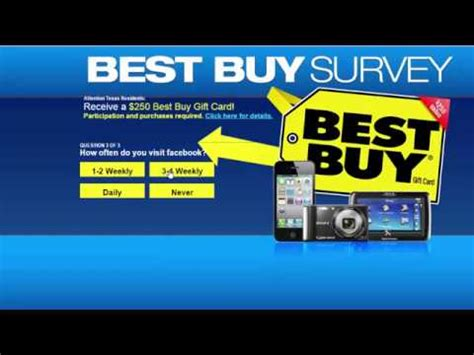 Where To Get Best Buy Gift Cards - how to get a best buy gift card 250 500 youtube