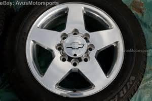 20 Chevrolet Silverado Wheels 2012 Chevy Silverado 20 Oem Polished Wheels 2500 3500 Gmc
