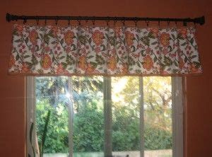market table runner turn a market table runner into a kitchen valance