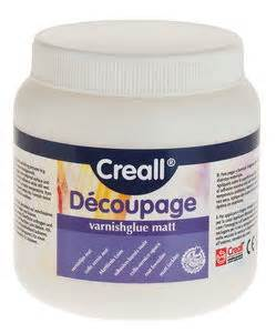 Decoupage Glue And Varnish - decoupage matt varnish glue 250ml opitec