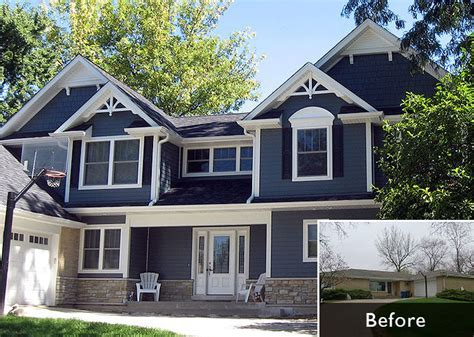 Major Renovation Of Ranch Home   Bradford and Kent Custom