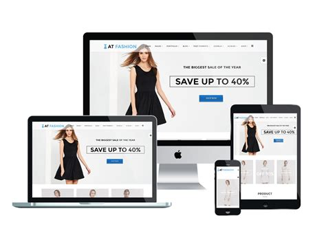 fashion store template at fashion shop free fashion store clothes shop joomla