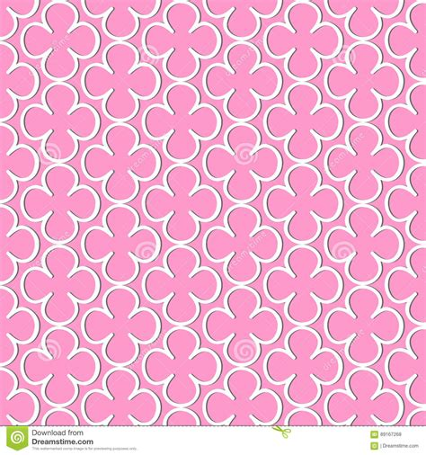 pattern of white color pattern of flowers of white color vector illustration