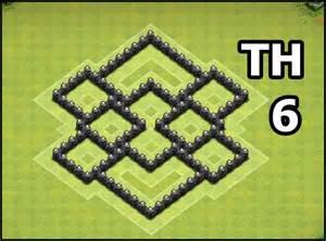 Clash of clans town hall 6 farming base best coc th6 farming defense