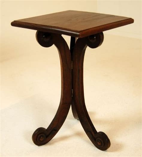 Small Folding Side Table Small Folding Side Table Antique 19th C Tilt Flip Top Candle Stand Small Side Table Folding