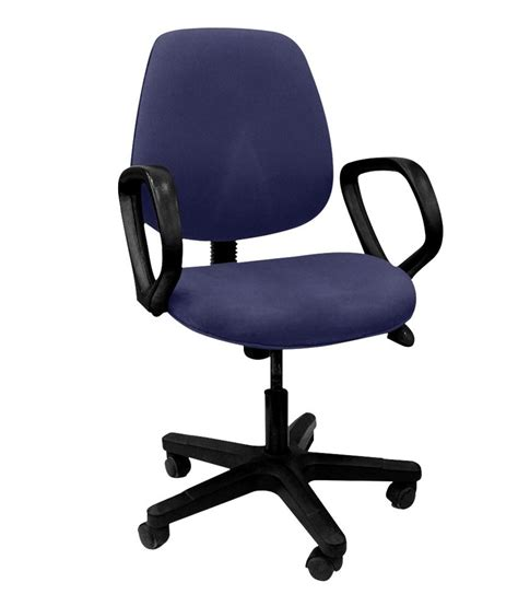 prestige office stystems blue office chair snapdeal price