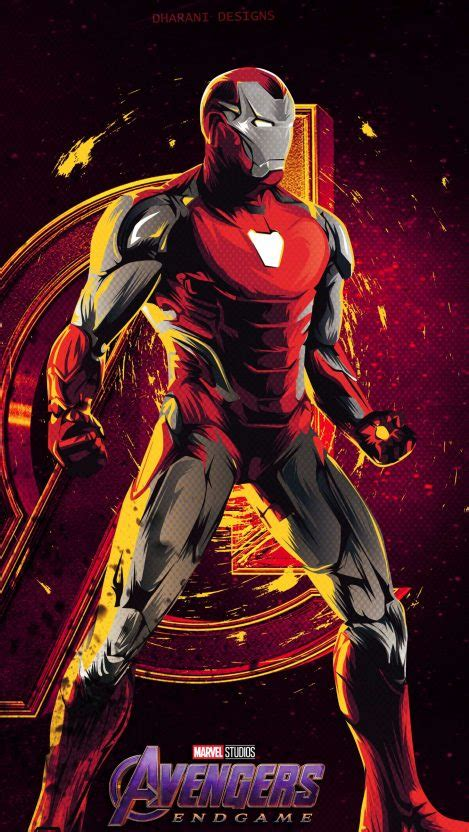 iron man avengers endgame mk armor iphone wallpaper