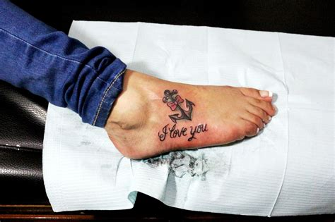 imagenes de tatuajes de i love you ancla con mo 241 o y frase i love you by rulaxx choon