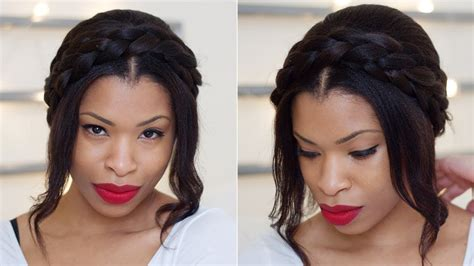Cute Milkmaid Braids for Spring   HAIR   YouTube