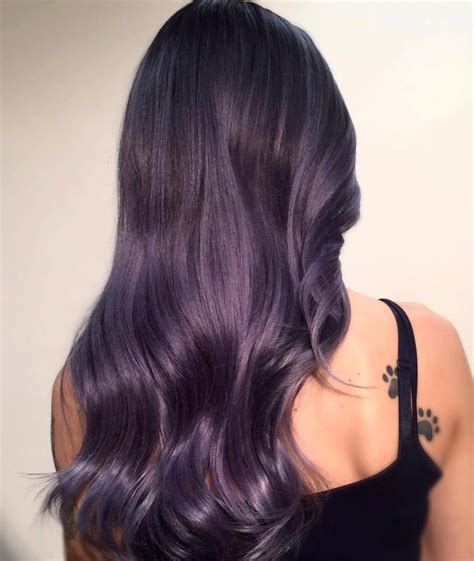 gray purple color dark blue to purple ombre hair hairstylegalleries com