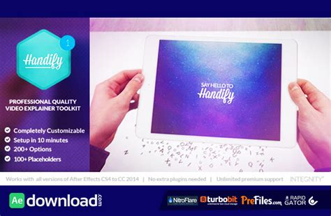 after effects templates free cs5 10 best free explainer after effects templates